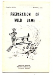1954 Preparation Of Wild Game