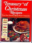 Treasury Of Christmas Recipes From Brand Name Companies