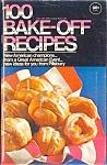 Pillsbury 1969 100 Bake-off Recipes