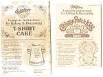 7 Wilton Cake Pan Instruction Pamphlets