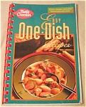 Spiralbound Betty Crocker Onedish Recipes Cookbook