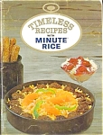 Timeless Recipes With Minute Rice Cookbooklet