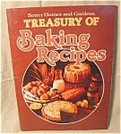 Bhg Treasure Of Baking Recipes Cookbook