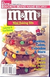 Fbnr M&m Mini Baking Bit Recipe Cookbook