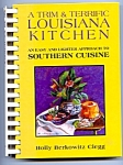 Signed By The Author, Trim Louisiana Kitchen Cookbook
