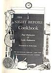 1967 Hardcover Night Before Cookbook