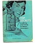 Top Secrets -canning And Freezing For Modern Homemakers