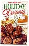 Bakers, Diamond And Jello Holiday Desserts Book