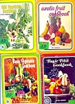 Set Of 4 , 1969 Fruit And Vegetable Cookbooklets