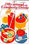 Mix Around With Cranberry Drinks Cookbook