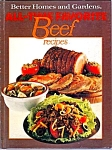 1977 All Time Favorite Beef Recipes Cookbook