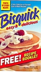 Bisquick Easy And Delicious Cookbooklet
