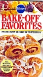 1989 Pillsbury Bake-off Favorites Cookbook