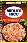 Minute Rice Fast Fabulous Meals Cookbook