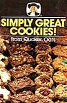 Simply Great Cookies Cookbook Quaker Oats