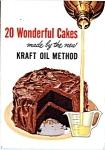 20 Wonderful Cakes Made By Kraft Oil Method Cookbook