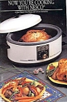 Nesco 6 Qt Oven Recipes And Care Booklet