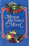 Mogen David Menus For Every Mood Cookbook