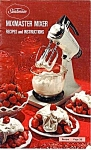 Sunbeam Mixmaster Mixer Recipes And Instructions