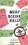1958 Buttrey Foods Meat Recipe Rally