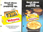 Set Of 2, 1970-80 Era Velvetta Cheese Recipe Booklets