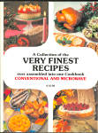 Collection Of Very Finest Recipes Cookbook