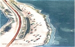 Sunshine Skyway Florida Souvenir Post Card