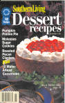 1996 Southern Living Dessert Recipes Cookbook