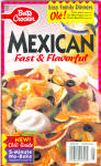 Betty Crocker #96 Mexican Fast And Flavorful Cookbook