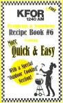 1240 Am Kfor Recipe Book Number 6