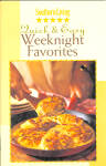Quick And Easy Weeknight Favorites Cookbook