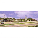 Howard Johnsons Key West Florida Over Size Post Card