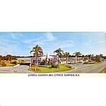 Cypress Gardens Inn Cypress Gardens Florida Post Card