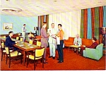 The Columbus Hotel Miami Florida Over Size Post Card