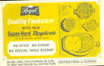 Regal Cookware Cookbook Care Hints