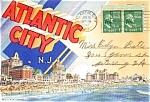Atlantic City Souvenir Postcard Folder