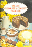 Baker's Chocolate And Cocoanut Favorites Cookbook