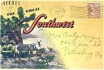 The Great Southwest Souvenir Pc Folder