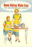1953 Spry Home Baking Made Easy