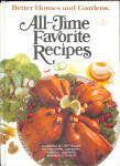 1979 Better Homes And Gardens All Time Favorite Recipes