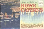 Howe Caverns New York Souvenir Postcard Folder