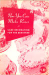 1952 Cake Decorating For Beginners, Rose Making