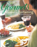2001 Gourmet's Casual Entertaining Cookbook