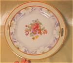 Bavarian Floral Cake Plate