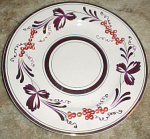 Vintage Handpainted Copper Luster Plate