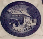 Royal Copenhagen 1976 Christmas Plate