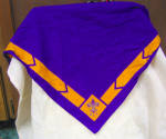 Excellent Vintage Cotton Boy Scouts Kerchief Or Scarf