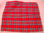Vintage Petite Plaid Child's Handkerchief