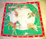 1950-60s Western Design Children's Handkerchief