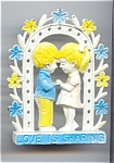 Love Is Sharing Pierced Earring Holder